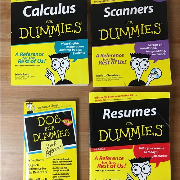 For Dummies Collection : Bundle Of 4 Books